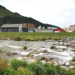Река Бела в района за тренировките