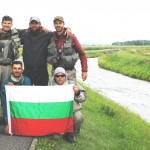 Река Попрад-първата отборна снимка