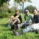 Сладка раздумка с Пабло Кастро след езерната тренировка